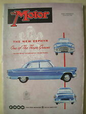 VINTAGE MOTOR MAGAZINE MAY 23 1956 THE NEW FORD ZEPHYR