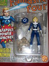 Toy Biz Marvel Super Heroes Fantastic Four Invisible Woman Figure NIP 1994