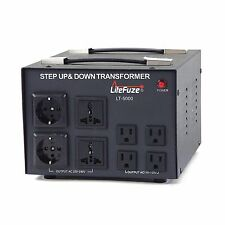LiteFuze No. 1 Recommended LT-5000 Voltage Transformer Converter Step UP/Down