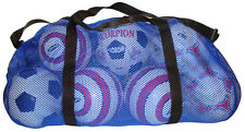 New Blue Mesh Duffel Bag Soccer Football Basketball gear