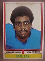 AHMAD RASHAD 1974 TOPPS RC #105 BUFFALO BILLS ROOKIE CARD