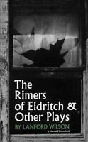 The Rimers of Eldritch: And Other Plays Mermaid Dramabook Series