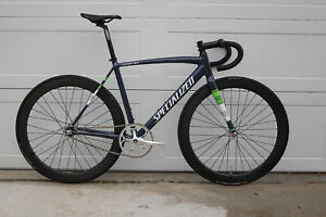 2018 Specialized Langster 54cm Track Bike Fixed Gear Dura Ace Sugino DT Swiss