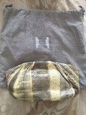 Beautiful halston snake skin clutch Handbag Simply Stunning