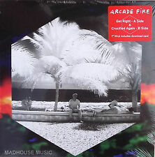 "ARCADE FIRE 7"" Get Right / Crucified Again + Download SEALED"