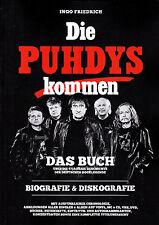 Die PUHDYS kommen - Das Buch (Diskografie) DDR Amiga Ostrock  Maschine / Quaster