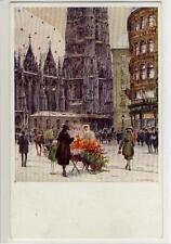 AK Wien I, Das Leben am Stephansplatz, 1925