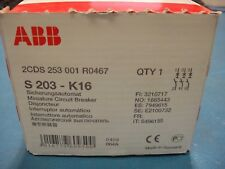 ABB S203-K16 Sicherungsautomat 2CDS253001R0467  NEW IN BOX!!!