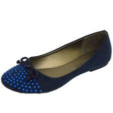 Ballerine da donna blu senza marca