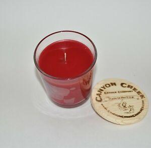NEW Canyon Creek Candle Company 8oz tumbler APPLE SPICE jar Handmade!