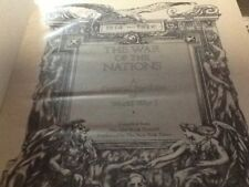 The War of the Nations : A Pictorial Portfolio of World War I (1976, HC) HUGE