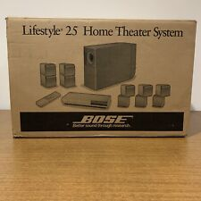 Bose Lifestyle 25 5.1 Channel Home Theater System FACTORY RENEWED I Will Ship