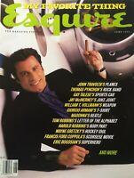 JOHN TRAVOLTA June 1996 ESQUIRE Magazine WAYNE GRETZKY  MADONNA  THOMAS PYNCHON