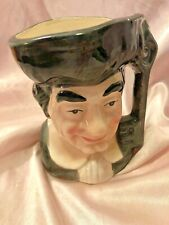 "Vintage Toby black 5"" Cup Mug Unmarked"