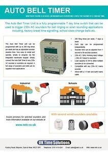 Automatic Bell Ringer Timer / Not Danfoss 841