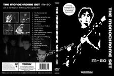 The Monochrome Set  M80 Concert (DVD, 2013) New item