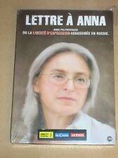 DVD DOC / LETTRE A ANNA / ANNA POLITKOVSKAIA / NEUF SOUS CELLO
