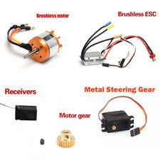 Brushless Motor ESC Metal Steering Gear For Feiyue FY01 / 02/03/04/05/06/07 Lot