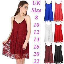 Unbranded Polyester Floral Sleeveless Dresses for Women