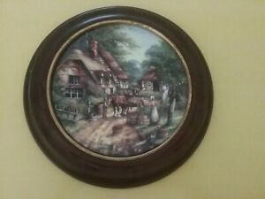 Wedgewood Country Days Collector Plate The Apple Pickers by Chris Howells