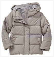NEW  Gap Kids Warmest Down Puffer Jacket Grey Sky Size L (10)