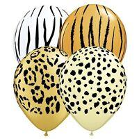 Party Birthday Supplies Jungle Safari Assortment Prints 28cm Balloons pk 10