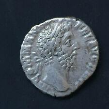 Commodus Denarius - LIbertas Standing