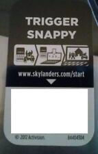 Trigger Snappy Skylanders Spyro's Adventures Code Only!