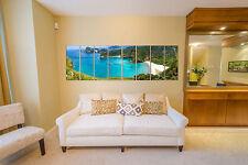 Canvas Prints FRAMED - Beach Prints On Canvas - Wall Art Home Decor - Framed Art
