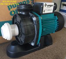 Genuine ONGA LTP750S Leisure SOLAR Pump 1.0 HP (Solar - so no pump basket)