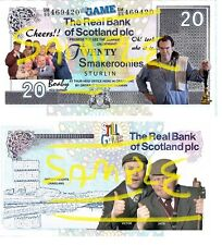 Special Edition Novelty Still Game Smakeroonies Bank Notes