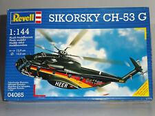 REVELL 04065 SIKORSKY CH-53G HUBSCHRAUBER 1:144 30 J. HEERESFLIEGER HELICOPTER
