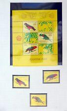 INDONESIA 1984 Birds Set & M/Sheet U/M NB3314