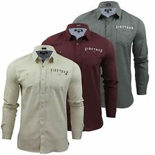 Firetrap Cotton Long Sleeve Casual Shirts & Tops for Men
