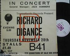 RICHARD DIGANCE ~ Live In Concert ~ VINYL LP