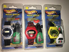 COLLECTIBLE  HOT WHEELS WATCHES BY MATTEL Digital & Diecast cars 2004