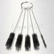 5pcs 1 SET Nylon Brush Shank BRIAR Tobacco Pipe Cleaner Cleaning Stainless Steel