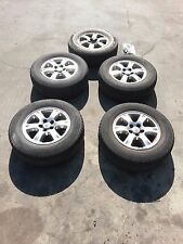 """5x TOYOTA KLUGER WHEELS 16"""" WITH TYRES 225/70R16"""