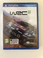 WRC 5 World Rally Championship Sony Playstation PS Vita Game *Nordic* Brand New