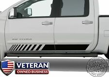 Universal Strobe Front Door Runner Vinyl Decal Fits Ford Ram Chevy Toyota Nissan