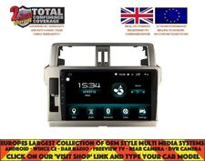 "10.2"" GPS NAVI CARPLAY ANDROID AUTO 9.0 BT DAB+ 8CORE TOYOTA PRADO 2014+ DHS2023"