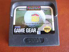 SEGA GAME GEAR PORTABLE - REGION FREE OFFERS/COMBINE -  SUPER GOLF