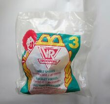 McDonalds Happy Meal Toy 1995 VR Troopers  - Wrist Spinner #3 from Saban