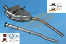 MINI COOPER 1.6 16V Cabrio Hatchback Full exhaust system + mounting kit