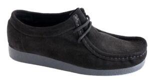 Schuhe Unisex Art Sebago Echtes Leder Art. 7010 Mit Schwarz