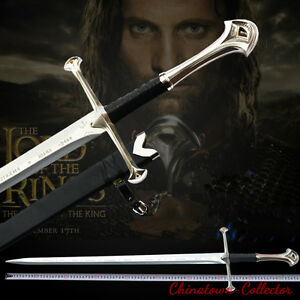 """51"""" Lord of the Rings Anduril The Sword of Aragon holy sword Steel blade #0009"""