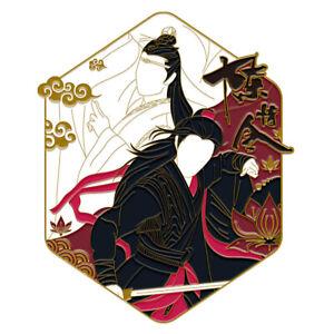 The Untamed Yibo Xiao Zhan Lan Wangji Wei Wuxian Metal Badge Pin Brooch MDZS Sa