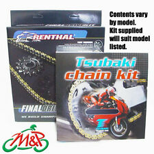 Bonneville/T100 2010 Tsubaki Drive Chain and Renthal Sprockets Kit