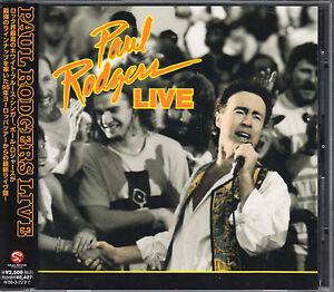 Paul Rodgers CD LIVE   (c) 1996  JAPAN OBI