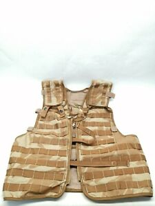 British Army Desert DPM Load Carrying Tactical Vest Molle Airsoft Paintball OSFA
